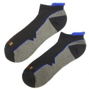 multisport wool ankle sock blue